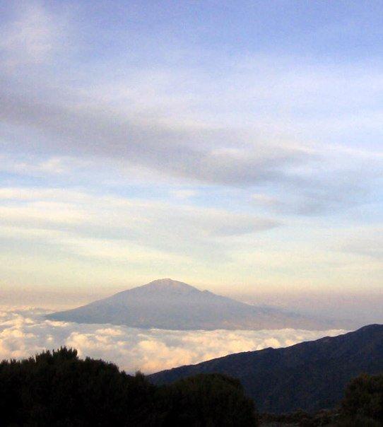 Aussicht auf Mount Meru