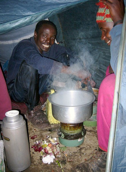 Kochen am Kilimandscharo
