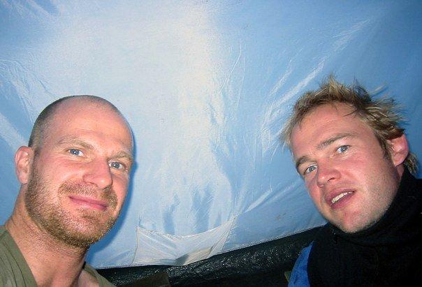 Im Zelt vor der Besteigung des Kilimandscharos