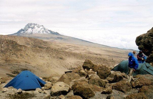 Letztes Nachtlager am Kilimandscharo