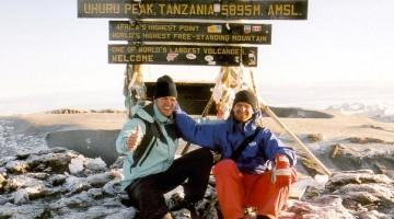 Die Besteigung des Kilimandscharo in Tansania