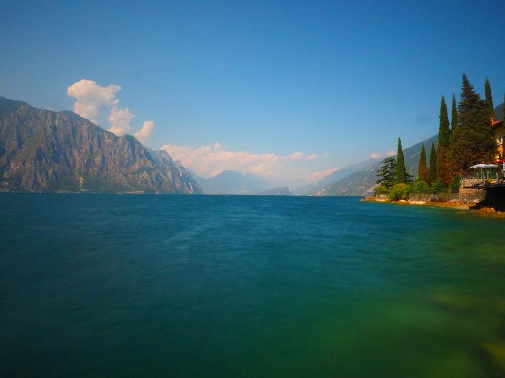 Der wunderschöne Gardasee