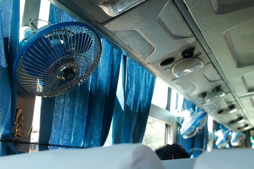 Busfahrt nach Pokhara in Nepal