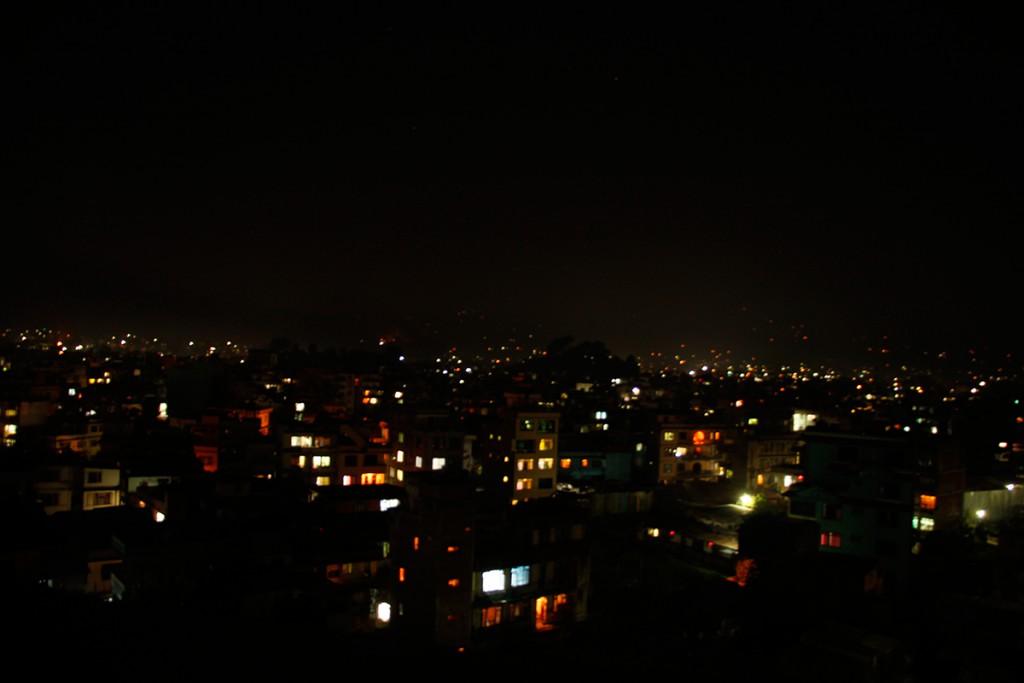 Nepal_Kathmandu_Nacht