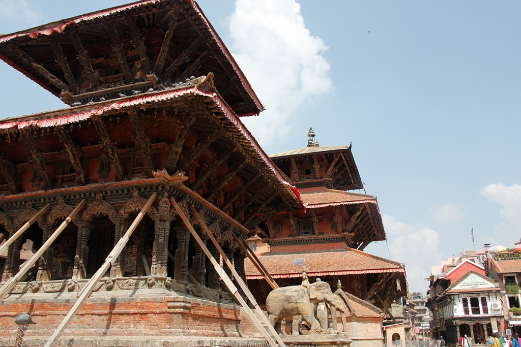 Patan Durbar Square in Nepal in Kathmandu