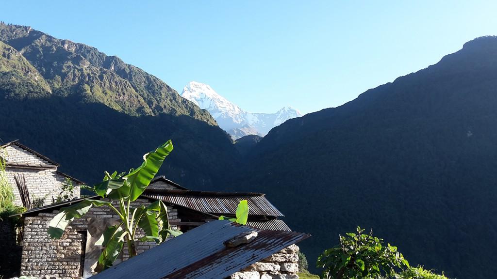 Ulleri auf dem Annapurna Circuit in Nepal