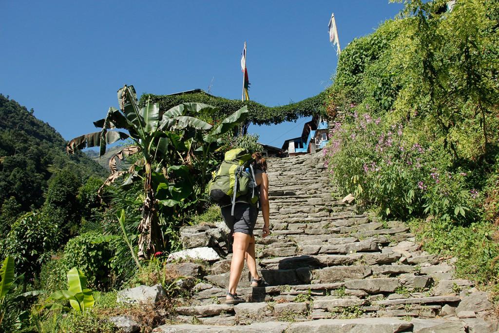 Trekking Nepal Nayapul