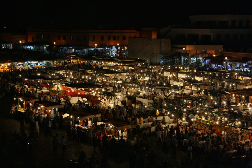 Marokko-Djemma-el