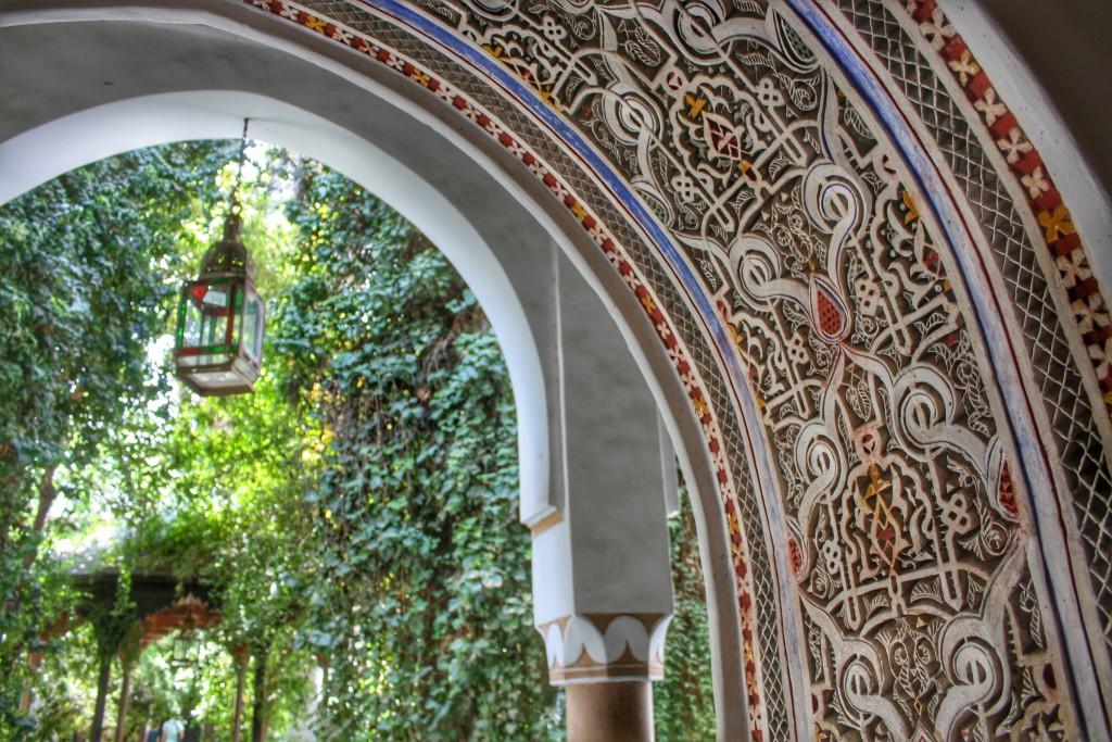 Marokko-Essaouira-Garten