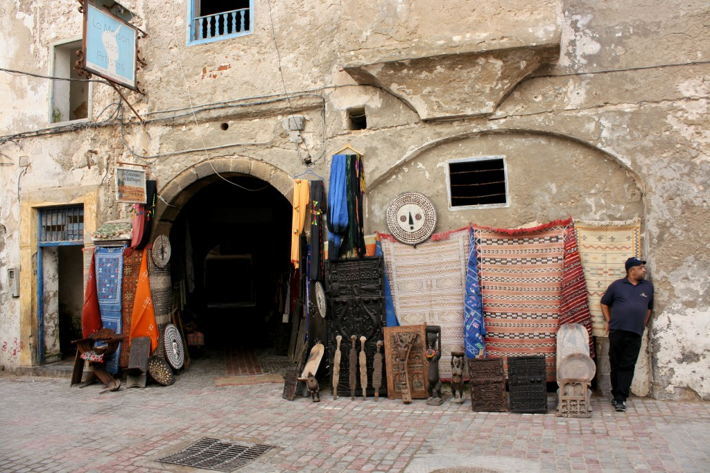 Marokko-Essaouira-Straße