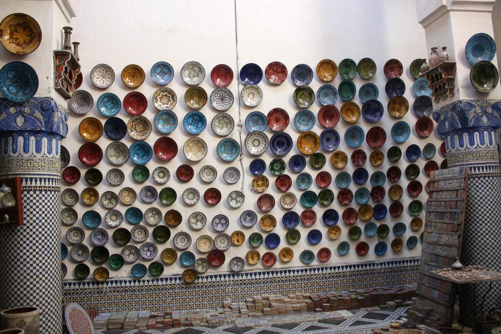 Marokko-Fès-Altstadt