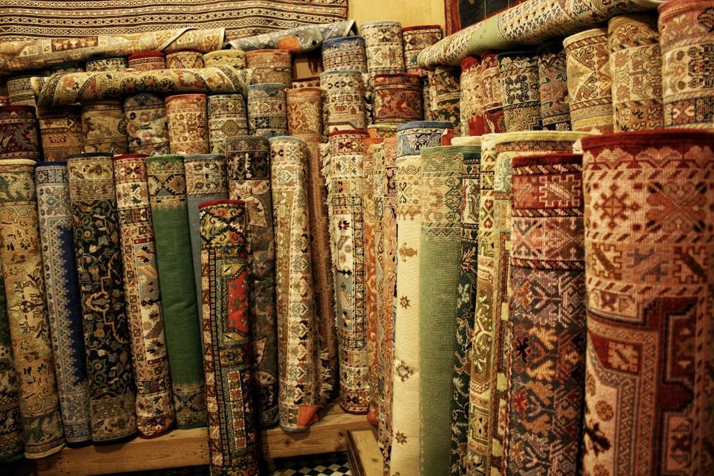 Marokko-Fès-Teppiche