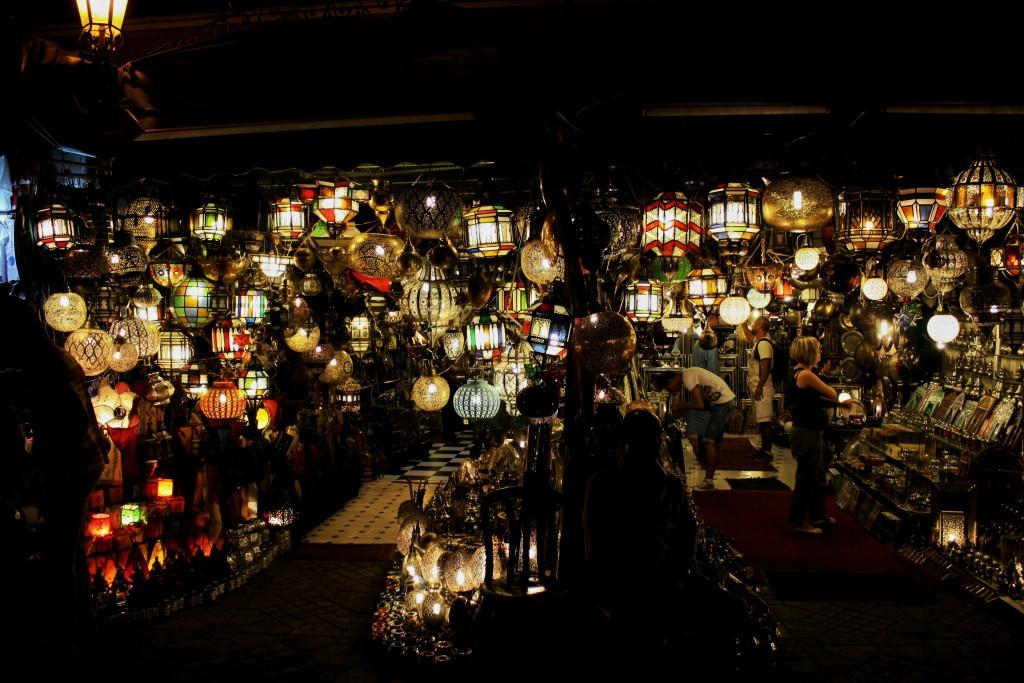 Marokko-Fés-Lampe
