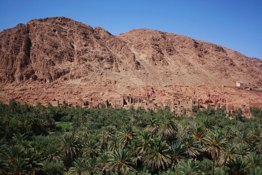 Marokko-Tinghir-Oase