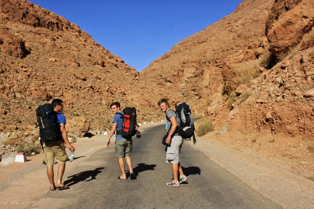 Marokko-Todra-Schlucht