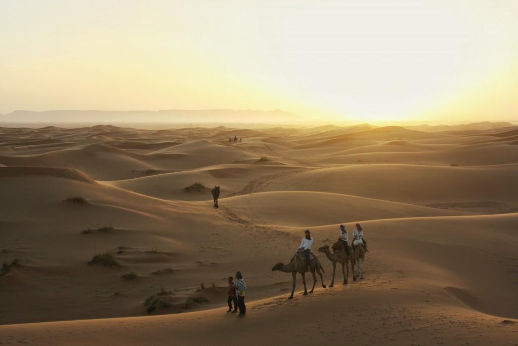 Marokko-Wüste-Kamel-Tour
