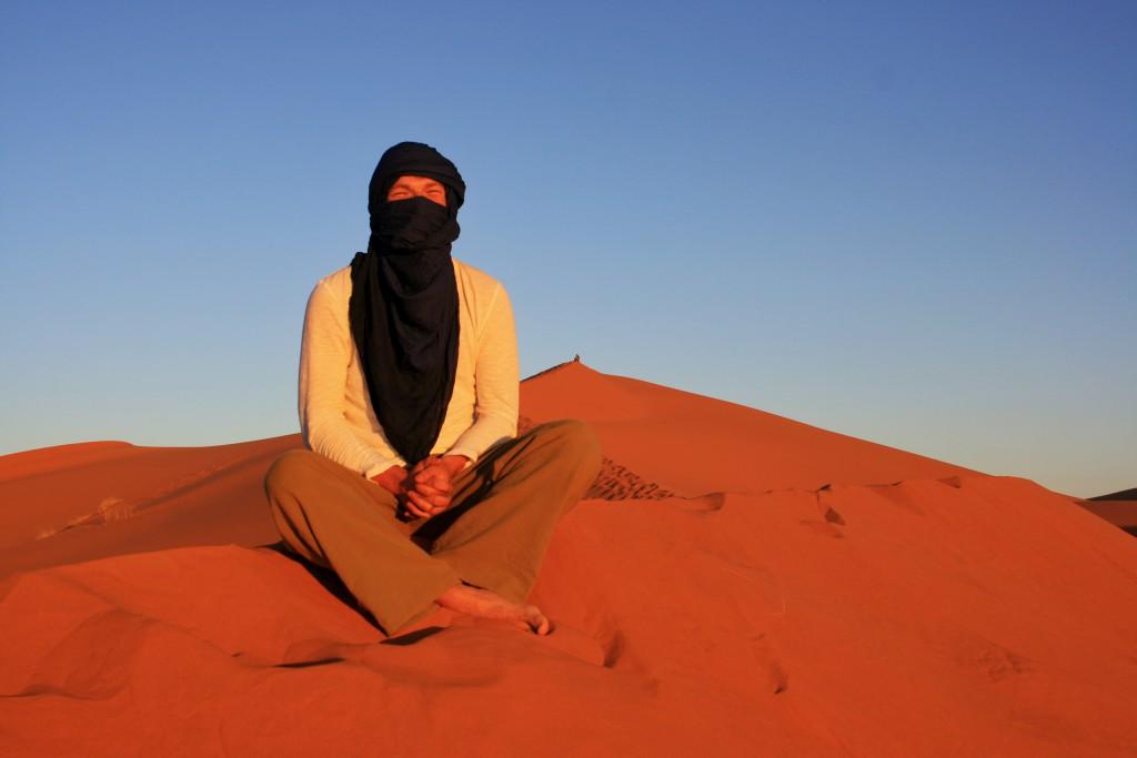 Marokko-Wüste-Sonnenaufgang