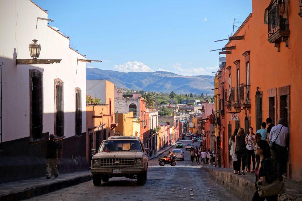 Strasse San Miguel de Allende