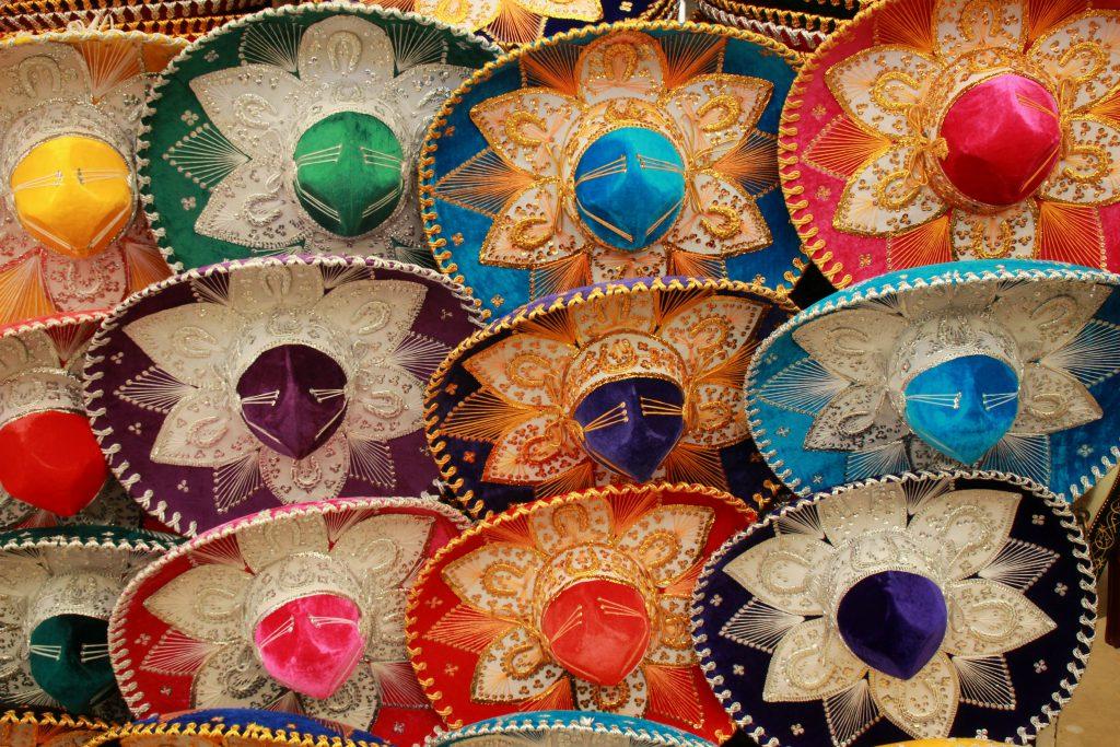 mexikanische Sombreros