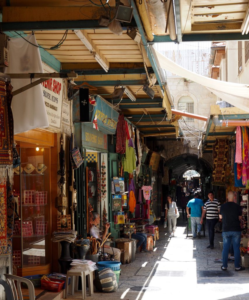 Arabisches Viertel in Jerusalem - Foto Jörg Heidjann