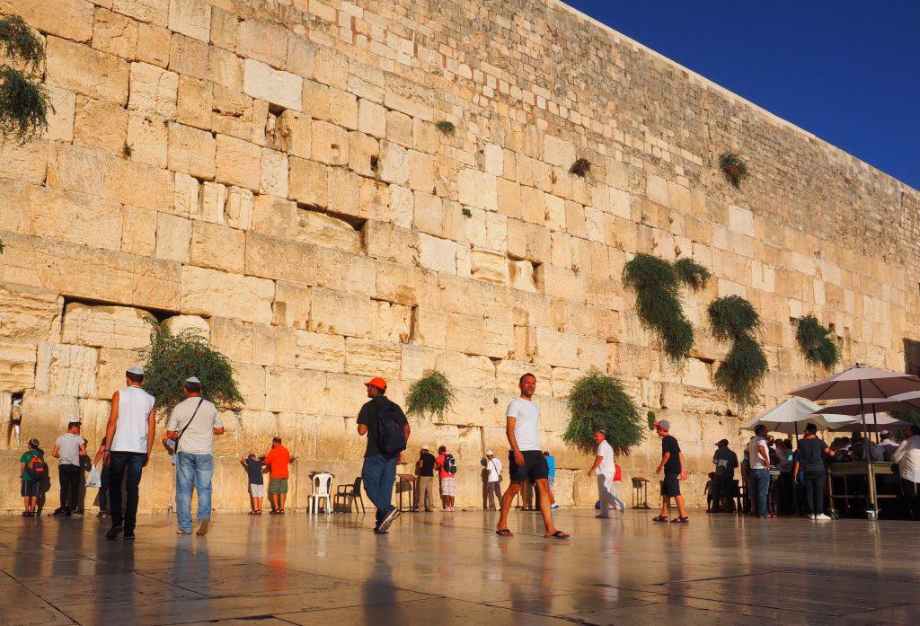 Klagemauer in Jerusalem - Foto Jörg Heidjann