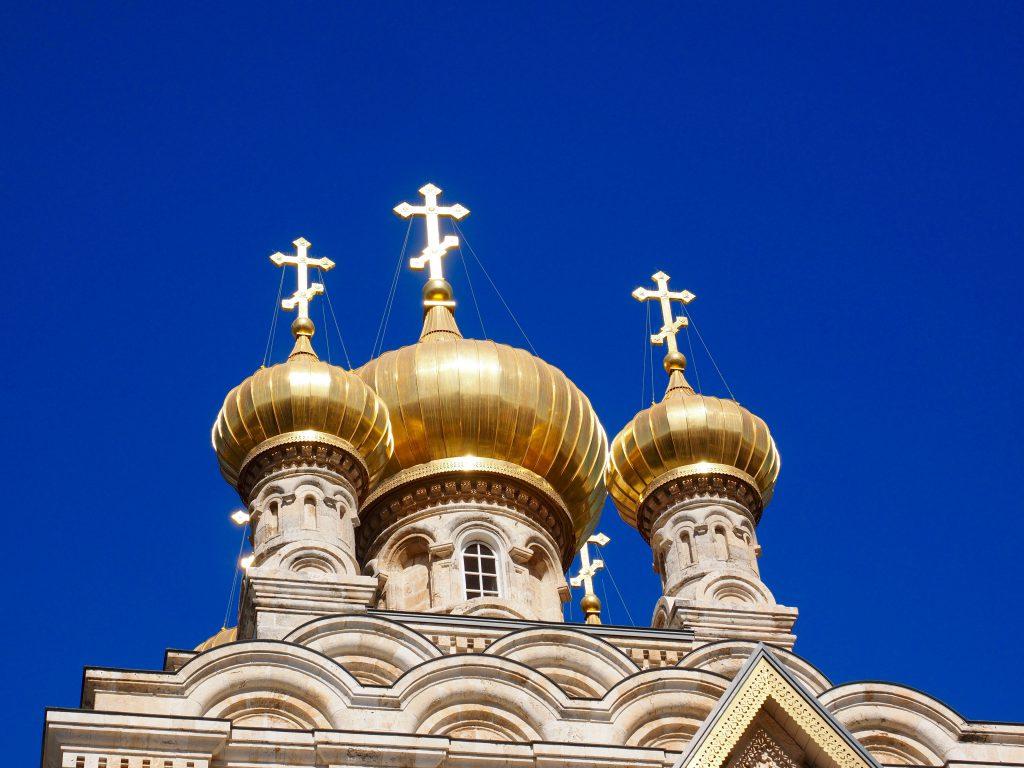 Russisch Orthodoxe Kirche in Jerusalem - Foto Jörg Heidjann