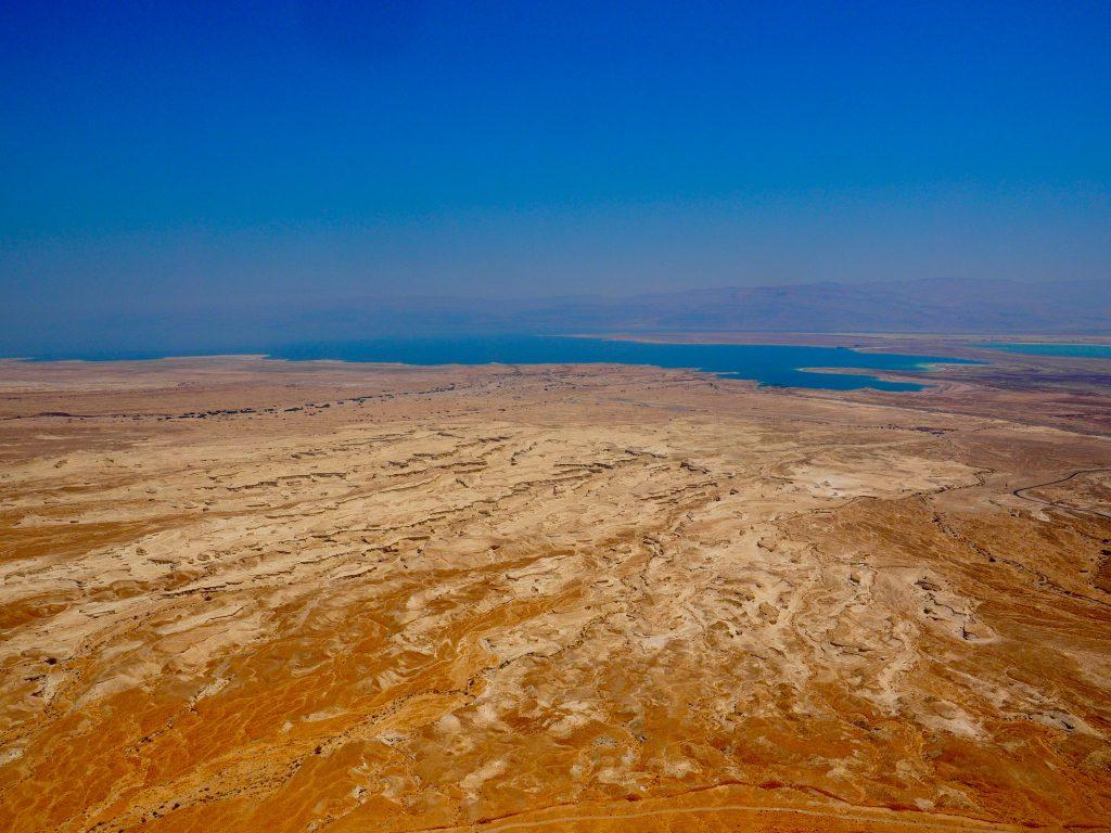 Masada am Toten Meer, Foto Jörg Heidjann
