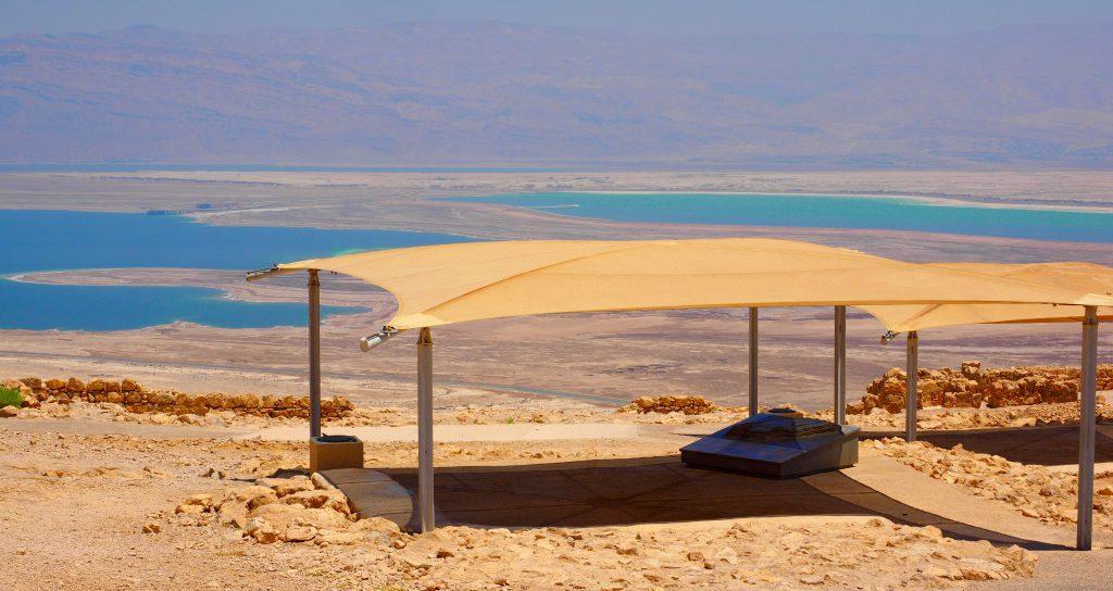 Masada am toten Meer - Foto Jörg Heidjann