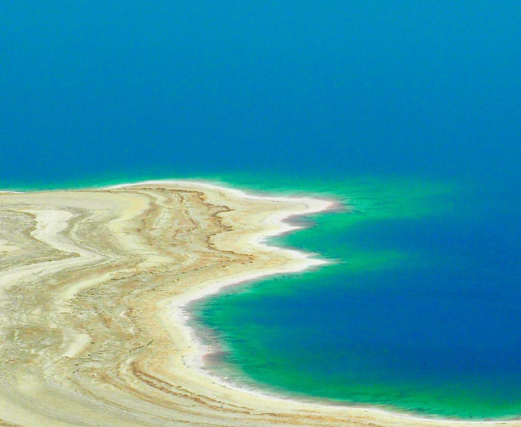 Küstenlinie Totes Meer - Foto Jörg Heidjann