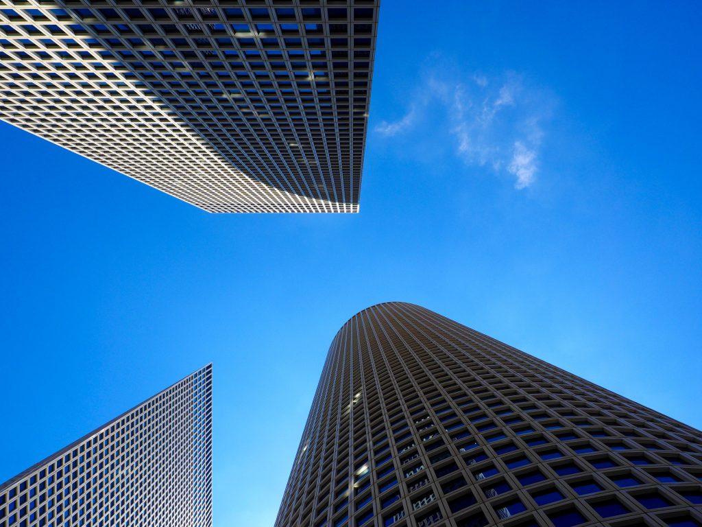 Moderne Architektur in Tel Aviv - Foto Jörg Heidjann