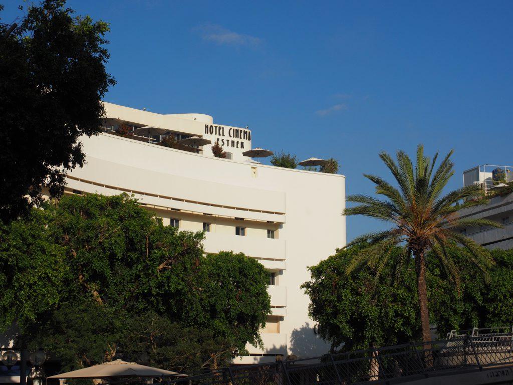 Cinema Hotel in Tel Aviv - Foto Jörg Heidjann